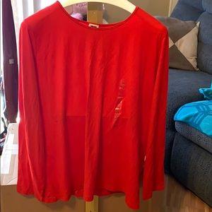 Long sleeve Anne Klein shirt